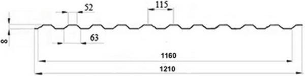 chart profnastil ps8 фото