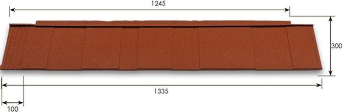chart metrotile shingle фото