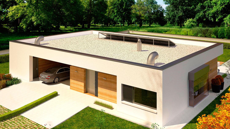 Плоские крыши