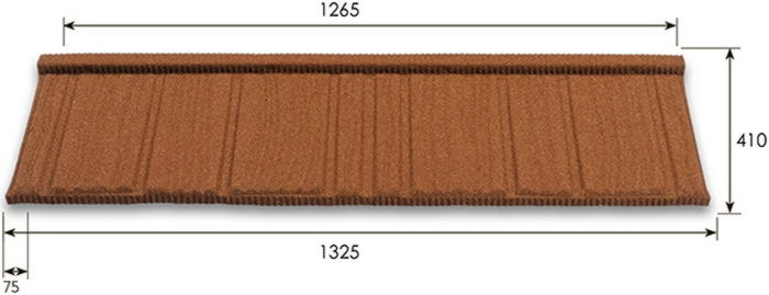 chart metrotile wood фото